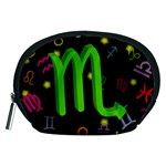 Scorpio Floating Zodiac Sign Accessory Pouches (Medium)  Front