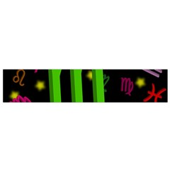 Scorpio Floating Zodiac Sign Flano Scarf (small)