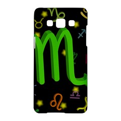 Scorpio Floating Zodiac Sign Samsung Galaxy A5 Hardshell Case