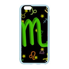 Scorpio Floating Zodiac Sign Apple Seamless iPhone 6 Case (Color)