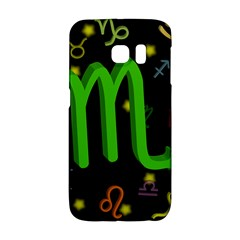 Scorpio Floating Zodiac Sign Galaxy S6 Edge