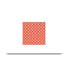 Awesome Retro Pattern Red Plate Mats