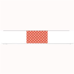 Awesome Retro Pattern Red Small Bar Mats