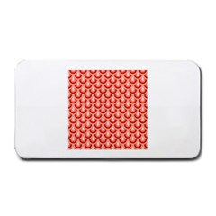 Awesome Retro Pattern Red Medium Bar Mats