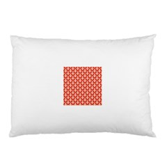 Awesome Retro Pattern Red Pillow Cases (Two Sides)