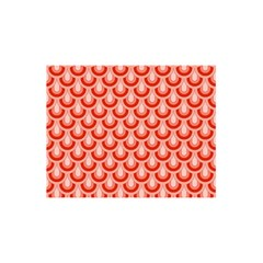 Awesome Retro Pattern Red You Are Invited 3d Greeting Card (8x4)