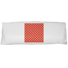 Awesome Retro Pattern Red Body Pillow Cases Dakimakura (two Sides)