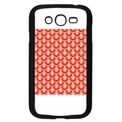 Awesome Retro Pattern Red Samsung Galaxy Grand Duos I9082 Case (black)