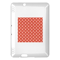 Awesome Retro Pattern Red Kindle Fire Hdx Hardshell Case