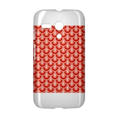 Awesome Retro Pattern Red Motorola Moto G