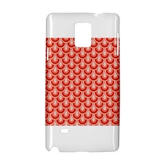 Awesome Retro Pattern Red Samsung Galaxy Note 4 Hardshell Case