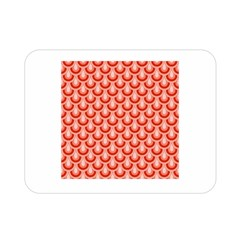 Awesome Retro Pattern Red Double Sided Flano Blanket (Mini)