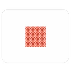 Awesome Retro Pattern Red Double Sided Flano Blanket (Medium)