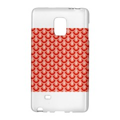 Awesome Retro Pattern Red Galaxy Note Edge