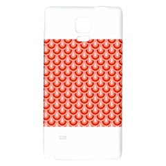 Awesome Retro Pattern Red Galaxy Note 4 Back Case