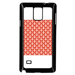 Awesome Retro Pattern Red Samsung Galaxy Note 4 Case (black)