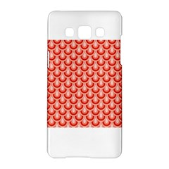 Awesome Retro Pattern Red Samsung Galaxy A5 Hardshell Case