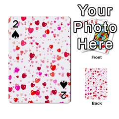 Heart 2014 0601 Playing Cards 54 Designs
