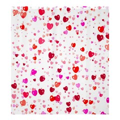 Heart 2014 0601 Shower Curtain 66  x 72  (Large)