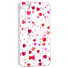Heart 2014 0601 Apple iPhone 4/4s Seamless Case (White)
