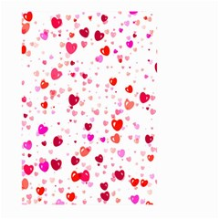 Heart 2014 0601 Large Garden Flag (Two Sides)