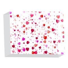 Heart 2014 0601 5 x 7  Acrylic Photo Blocks