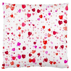 Heart 2014 0601 Large Flano Cushion Cases (one Side)