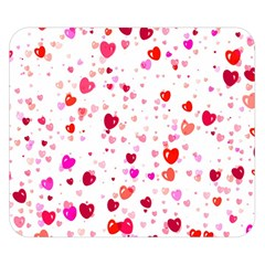 Heart 2014 0601 Double Sided Flano Blanket (Small)