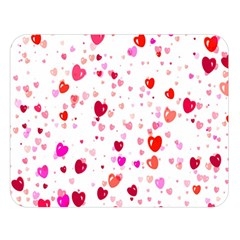 Heart 2014 0601 Double Sided Flano Blanket (Large)