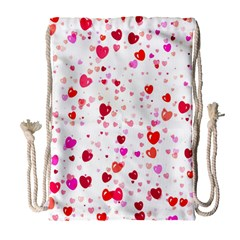 Heart 2014 0601 Drawstring Bag (Large)