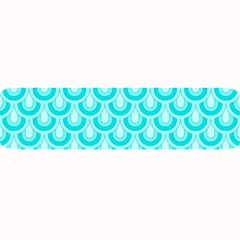 Awesome Retro Pattern Turquoise Large Bar Mats