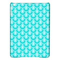 Awesome Retro Pattern Turquoise Ipad Air Hardshell Cases