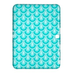 Awesome Retro Pattern Turquoise Samsung Galaxy Tab 4 (10.1 ) Hardshell Case