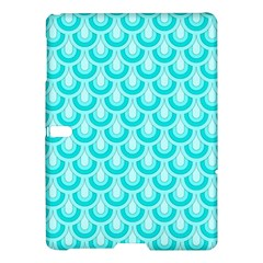 Awesome Retro Pattern Turquoise Samsung Galaxy Tab S (10.5 ) Hardshell Case