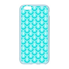 Awesome Retro Pattern Turquoise Apple Seamless iPhone 6 Case (Color)