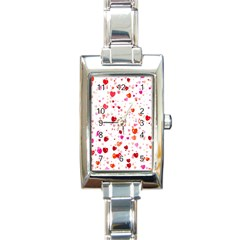Heart 2014 0602 Rectangle Italian Charm Watches