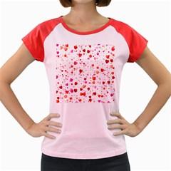 Heart 2014 0602 Women s Cap Sleeve T Shirt