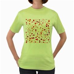 Heart 2014 0602 Women s Green T Shirt