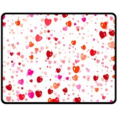 Heart 2014 0602 Fleece Blanket (Medium)