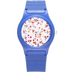 Heart 2014 0602 Round Plastic Sport Watch (s)