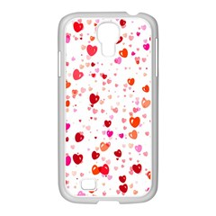 Heart 2014 0602 Samsung Galaxy S4 I9500/ I9505 Case (white)