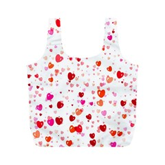 Heart 2014 0602 Full Print Recycle Bags (m)