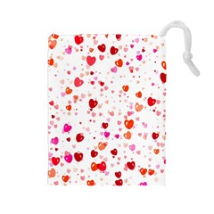 Heart 2014 0602 Drawstring Pouches (large)