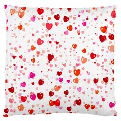 Heart 2014 0602 Large Flano Cushion Cases (one Side)