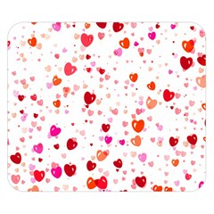 Heart 2014 0602 Double Sided Flano Blanket (Small)