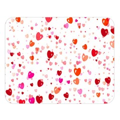 Heart 2014 0602 Double Sided Flano Blanket (Large)