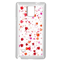 Heart 2014 0602 Samsung Galaxy Note 4 Case (White)