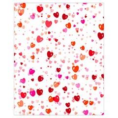 Heart 2014 0602 Drawstring Bag (Small)