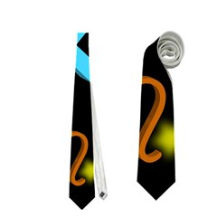 Sagittarius Floating Zodiac Sign Neckties (One Side)