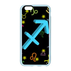 Sagittarius Floating Zodiac Sign Apple Seamless iPhone 6 Case (Color)